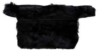 Prada Fox Fur Waist Bag