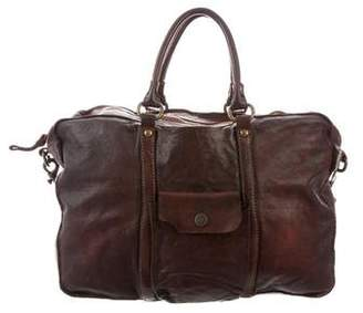 Campomaggi Distressed Leather Satchel