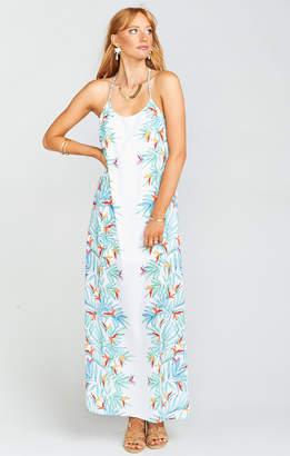 Show Me Your Mumu T-Rex Maxi Dress ~ Palm Party