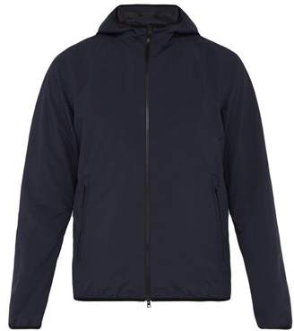 Herno Hooded Technical Jacket - Mens - Navy