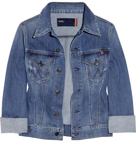 Notify Coquelicot stretch-denim jacket