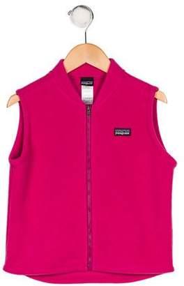 Patagonia Girls' Zip-Up Fleece Vest