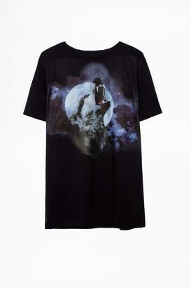 Zadig & Voltaire T-Shirt Bella Wolf Show