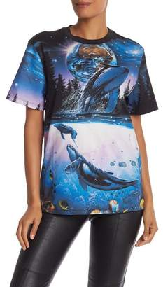 Opening Ceremony Whale Print Tee