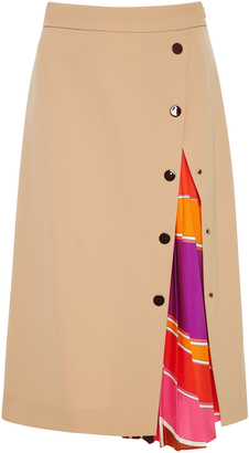 Emilio Pucci A-Line Skirt $1,075 thestylecure.com