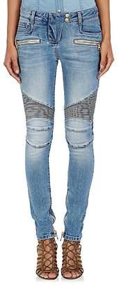 Balmain Women's Moto Jeans