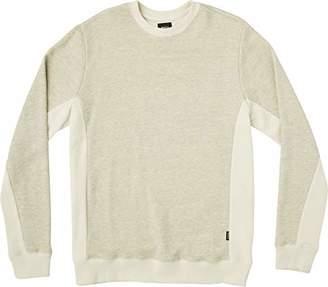 RVCA Men's Milo Stripe Crew Sweatshirt