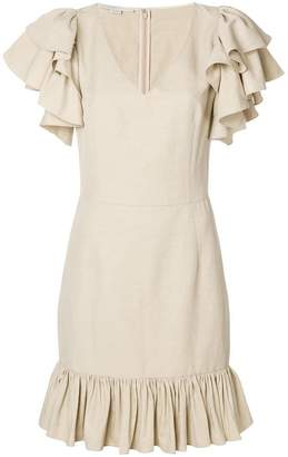 Stella McCartney ruffle sleeve dress