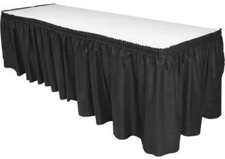 Genuine Joe, GJO11916, Nonwoven Table Skirts, 1 Each, Black
