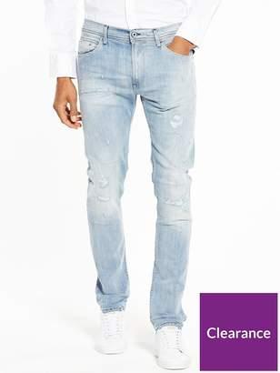 Replay Jondrill Distressed Skinny Fit Jeans