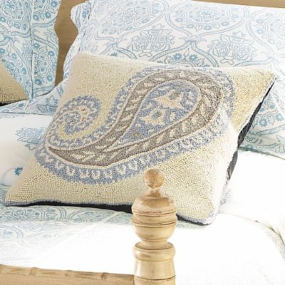 Paisley Hooked Pillows