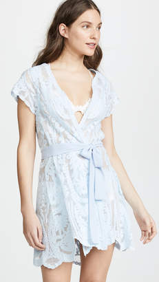 Flora Nikrooz Embroidered Robe