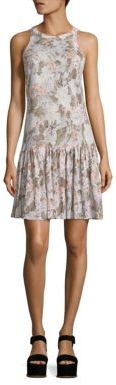 Rebecca Taylor Penelope Linen Jersey Dress $295 thestylecure.com