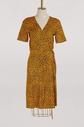 Diane von Furstenberg Printed flowers short dress