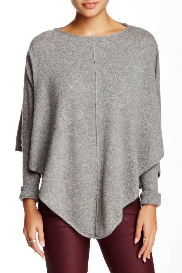 Portolano Knit Poncho Sweater 3