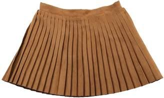 Dakota Egg Pleated Skirt