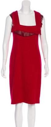 Chanel Paris-Dallas Wool Dress