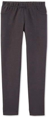 Carter's Little & Big Girls Faux-Pocket Leggings