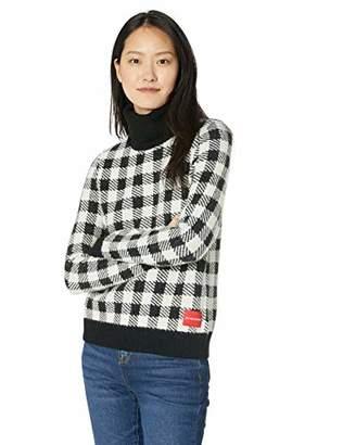 55a2745e4f7 Calvin Klein Jeans Women s Long Sleeve Turtleneck Sweater