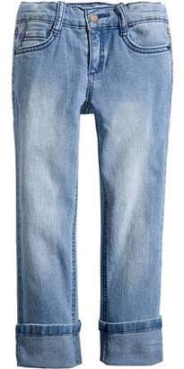 l.e.i. Girl's Essential Straight Fit Jeans