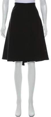 Alaia Wool Knee-Length Skirt
