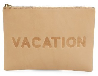 Madewell Vacation Large Pouch