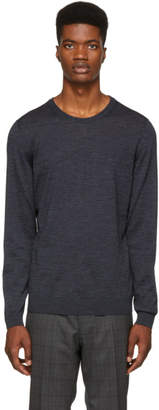 BOSS Navy Leno-P Sweater