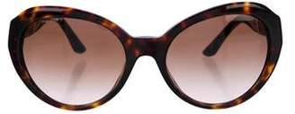 Versace Tinted Tortoiseshell Sunglasses