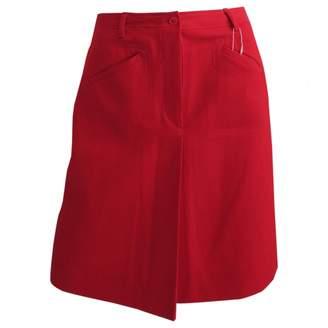 Cacharel Red Skirt for Women