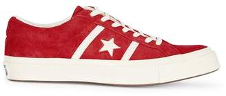 6468f22cf202ba at Harvey Nichols · Converse One Star Academy OX Red Suede Trainers