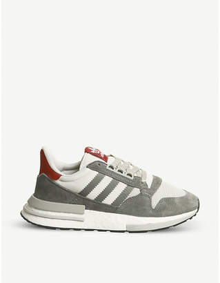 adidas ZX 500 RM suede and mesh trainers da59b601a