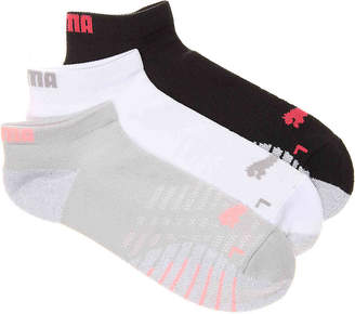 Puma 360 Grip No Show Socks - 3 Pack - Women's