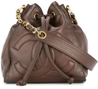 Chanel Pre-Owned drawstring chain shoulder bag
