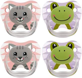 Dr Browns Dr. Brown's Dr Brown's Classic Pacifier, 0-6 Months, Animal Faces , 4 Count