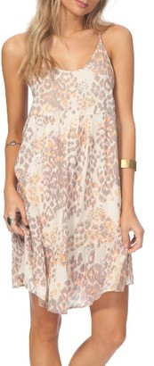 Women's Rip Curl Animalia Leopard Print Dress $44 thestylecure.com