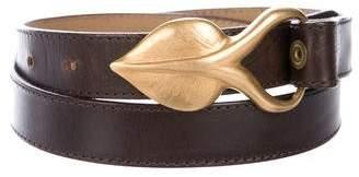 DKNY Leather Waist Belt