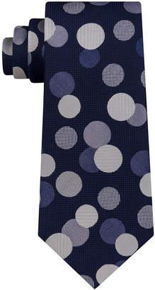 Sean John Men's Exploded Dot Silk Tie