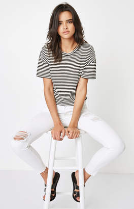 Pacsun Miami White Low Rise Skinniest Jeans
