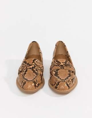 Asos Design Munch Loafer Flat Shoes