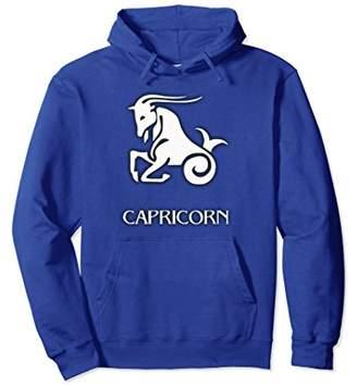 Capricorn Zodiac Sign Hoodie w/Color