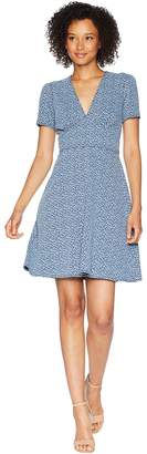 MICHAEL Michael Kors Tiny Wildflower Floral Dress Women's Dress