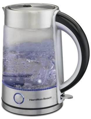 Hamilton Beach 1.7 Qt Modern Glass Electric Tea Kettle