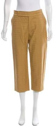 Marni Mid-Rise Cropped Pants