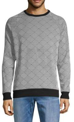 Sovereign Code Crewneck Long-Sleeve Top