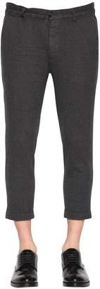 DSQUARED2 Dan Elastic Wool Flannel Chino Pants