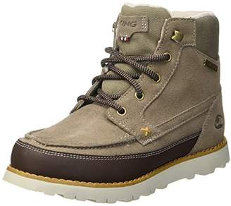 Viking Unisex Kids' Kjenning Jr. Chukka Boots Blue Size: 10UK Child