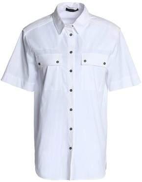 Belstaff Cotton-Blend Poplin Shirt