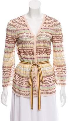 Missoni Button-Up Knit Cardigan