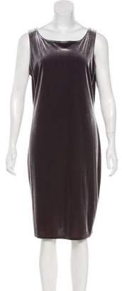 Max Studio Sleeveless Velvet Dress