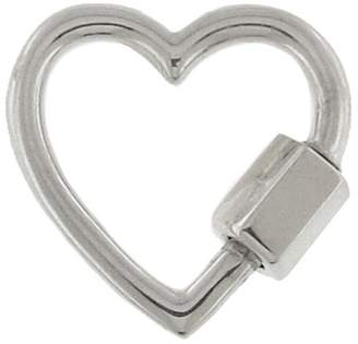 Marla Aaron Regular Heart Lock - Sterling Silver